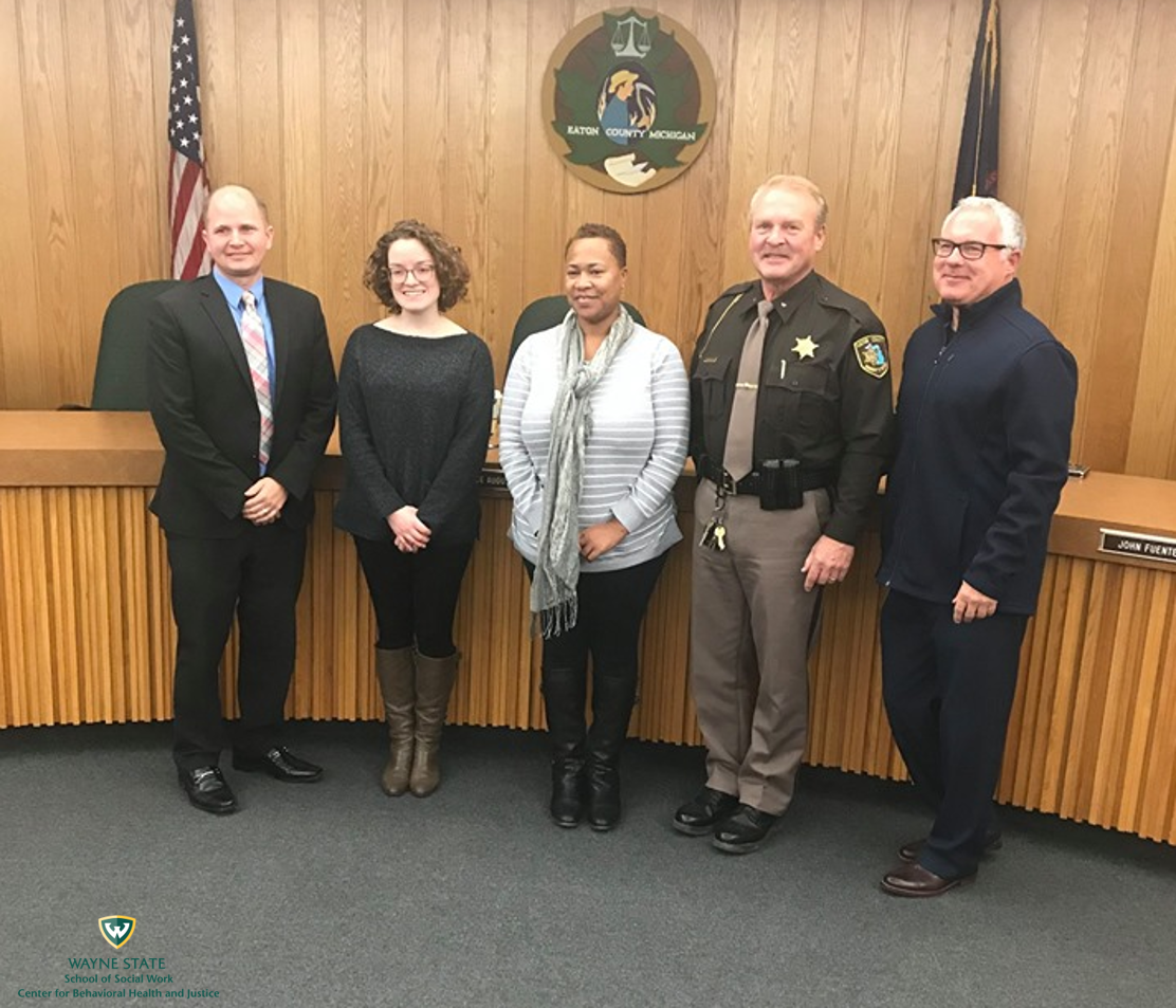 Eaton County Commissioners pass the Stepping Up resolution