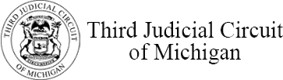 Third Circuit Court of Michigan logo