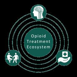 CBHJ Opioid Treatment Ecosystem Logo